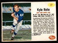 Kyle Rote [EX]