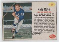 Kyle Rote [PoortoFair]