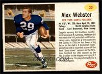 Alex Webster [VG]