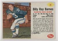 Billy Ray Barnes [GoodtoVG‑EX]