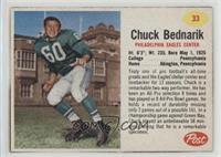 Chuck Bednarik [Noted]