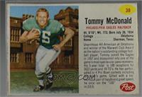 Tommy McDonald [Noted]