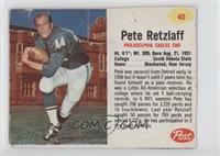 Pete Retzlaff [GoodtoVG‑EX]