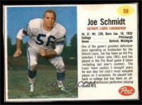 Joe Schmidt [EX]