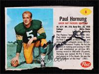 Paul Hornung [JSA Certified COA Sticker]