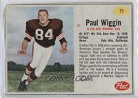 Paul Wiggin [Poor]