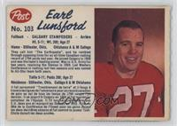 Earl Lunsford (perforated)