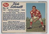 Dick Schnell [Good to VG‑EX]