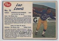 Leo Lewis