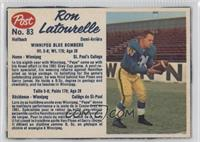 Ron Latourelle (hand-cut)