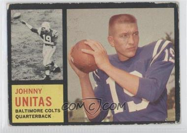 1962 Topps - [Base] #1 - Johnny Unitas [GoodtoVG‑EX]
