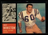 Roy Winston [EX]