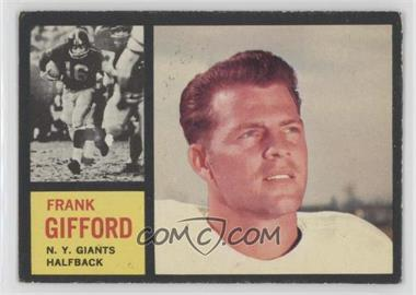 1962 Topps - [Base] #104 - Frank Gifford
