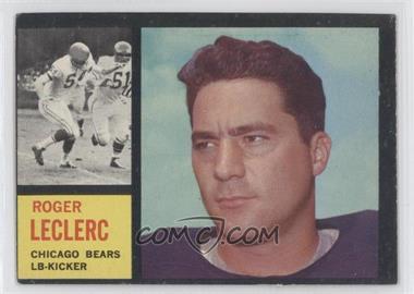 1962 Topps - [Base] #19 - Roger LeClerc