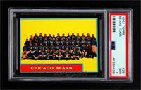 Chicago Bears Team [PSA7NM]