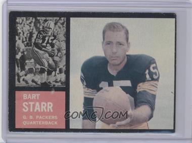 1962 Topps - [Base] #63 - Bart Starr [GoodtoVG‑EX]