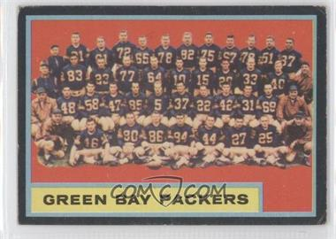1962 Topps - [Base] #75 - Green Bay Packers Team [Good to VG‑EX]