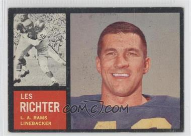 1962 Topps - [Base] #86 - Les Richter