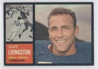 Cliff Livingston [GoodtoVG‑EX]