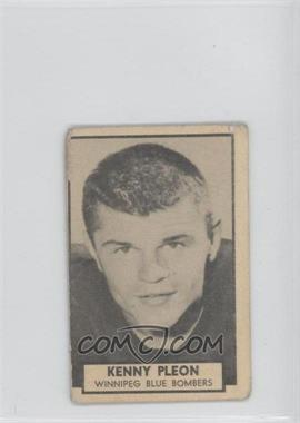 1962 Topps CFL - [Base] #163 - Kenny Pleon [Good to VG‑EX]
