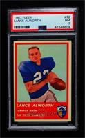 Lance Alworth [PSA 7 NM]