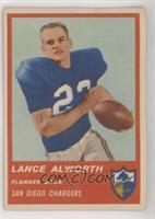 Lance Alworth [GoodtoVG‑EX]