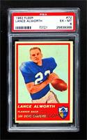 Lance Alworth [PSA 6 EX‑MT]