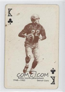 1963 Stancraft Playing Cards - [Base] - Green Back #KC - Bobby Layne [Good to VG‑EX]
