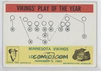 Vikings' Play of the Year