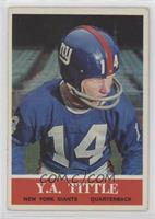 Y.A. Tittle [Good to VG‑EX]