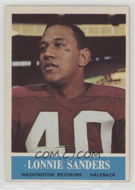 1964 Philadelphia - [Base] #193 - Lonnie Sanders