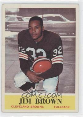 1964 Philadelphia - [Base] #30 - Jim Brown