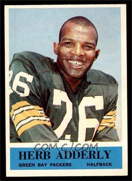 1964 Philadelphia - [Base] #71 - Herb Adderly [EXMT]