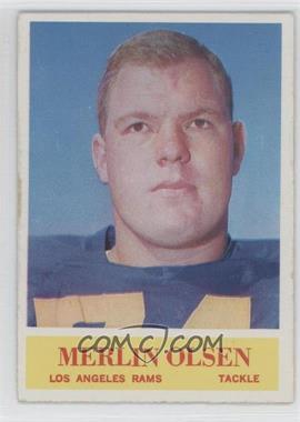 1964 Philadelphia - [Base] #91 - Merlin Olsen