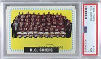 Kansas City Chiefs Team [PSA7NM]
