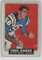 Emil Karas [Poor to Fair]