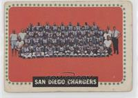 San Diego Chargers Team [Poor]