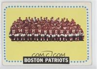 Boston Patriots Team [GoodtoVG‑EX]