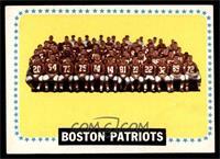 New England Patriots Team [EX]
