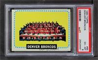 Denver Broncos Team [PSA6EX‑MT]