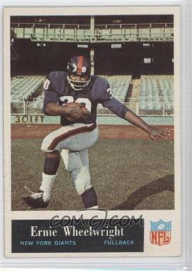 1965 Philadelphia - [Base] #124 - Ernie Wheelwright
