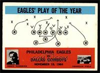 Philadelphia Eagles, Dallas Cowboys Team, Joe Kuharich [VG EX]