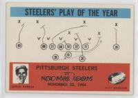 Steelers' Play of the Year, Buddy Parker