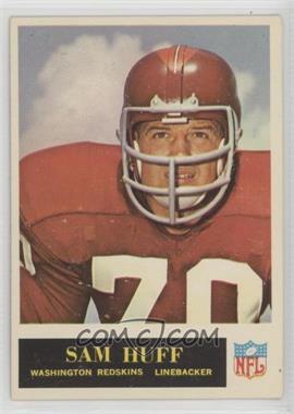 1965 Philadelphia - [Base] #187 - Sam Huff