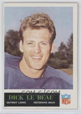 1965 Philadelphia - [Base] #64 - Dick LeBeau