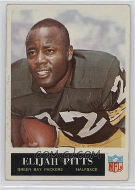 1965 Philadelphia - [Base] #80 - Elijah Pitts [GoodtoVG‑EX]