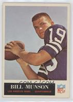 Bill Munson [Excellent]