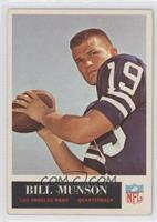 Bill Munson