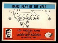 Los Angeles Rams, Green Bay Packers Team [NM]