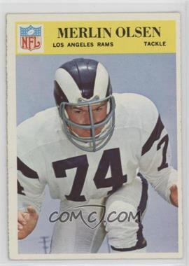 1966 Philadelphia - [Base] #102 - Merlin Olsen